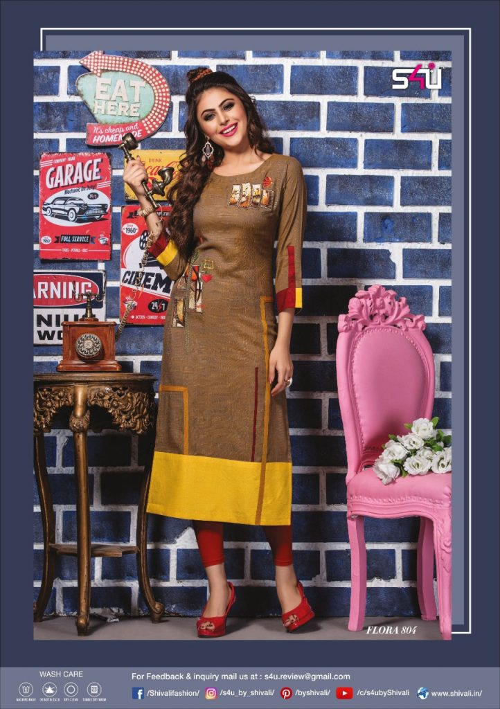 - IMG 20190322 WA0023 722x1024 - S4U by Shivalik Flora vol 8 designer party wear straight kurtis collection at best price  - IMG 20190322 WA0023 722x1024 - S4U by Shivalik Flora vol 8 designer party wear straight kurtis collection at best price