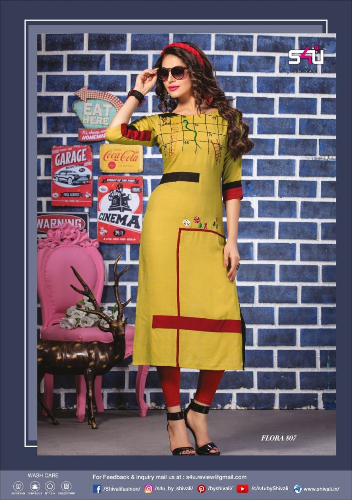 - IMG 20190322 WA0028 722x1024 - S4U by Shivalik Flora vol 8 designer party wear straight kurtis collection at best price  - IMG 20190322 WA0028 722x1024 - S4U by Shivalik Flora vol 8 designer party wear straight kurtis collection at best price