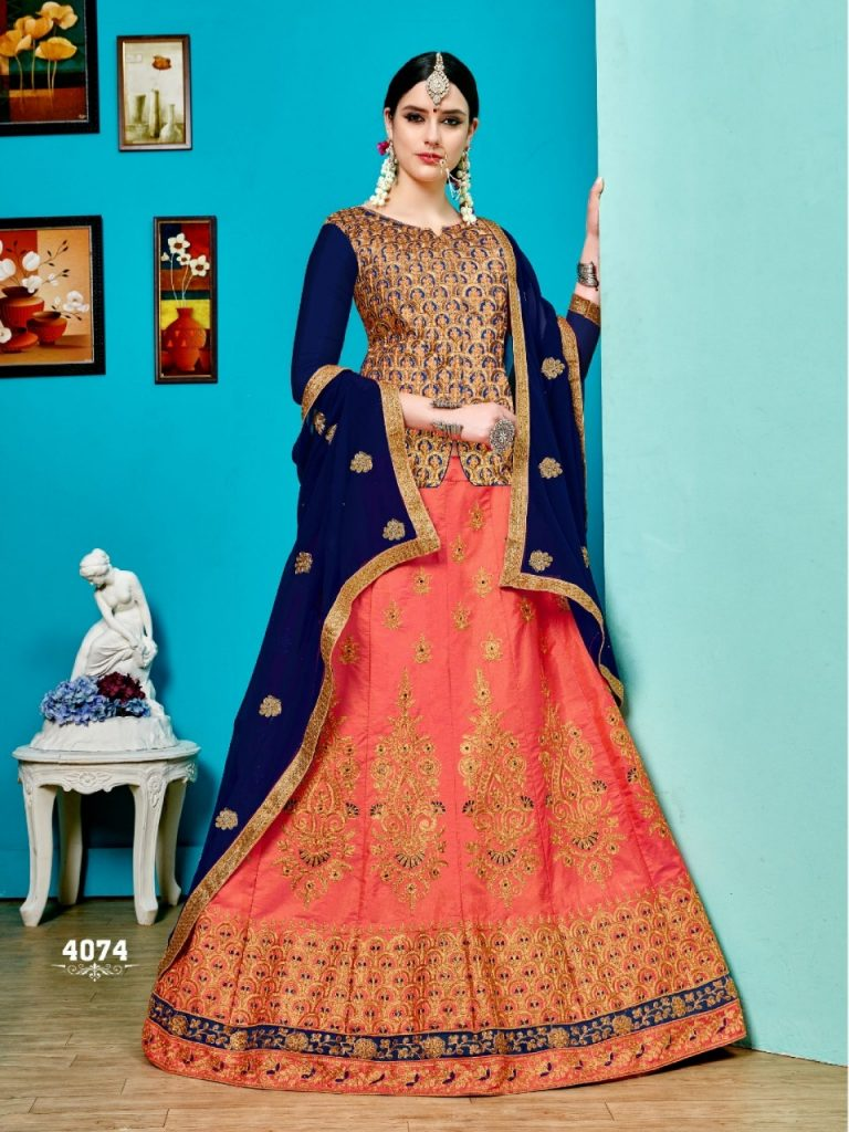 - IMG 20190329 WA0725 768x1024 - Sanskar style Saffron Stylish party wear lehenga catalog wholesale price Surat  - IMG 20190329 WA0725 768x1024 - Sanskar style Saffron Stylish party wear lehenga catalog wholesale price Surat