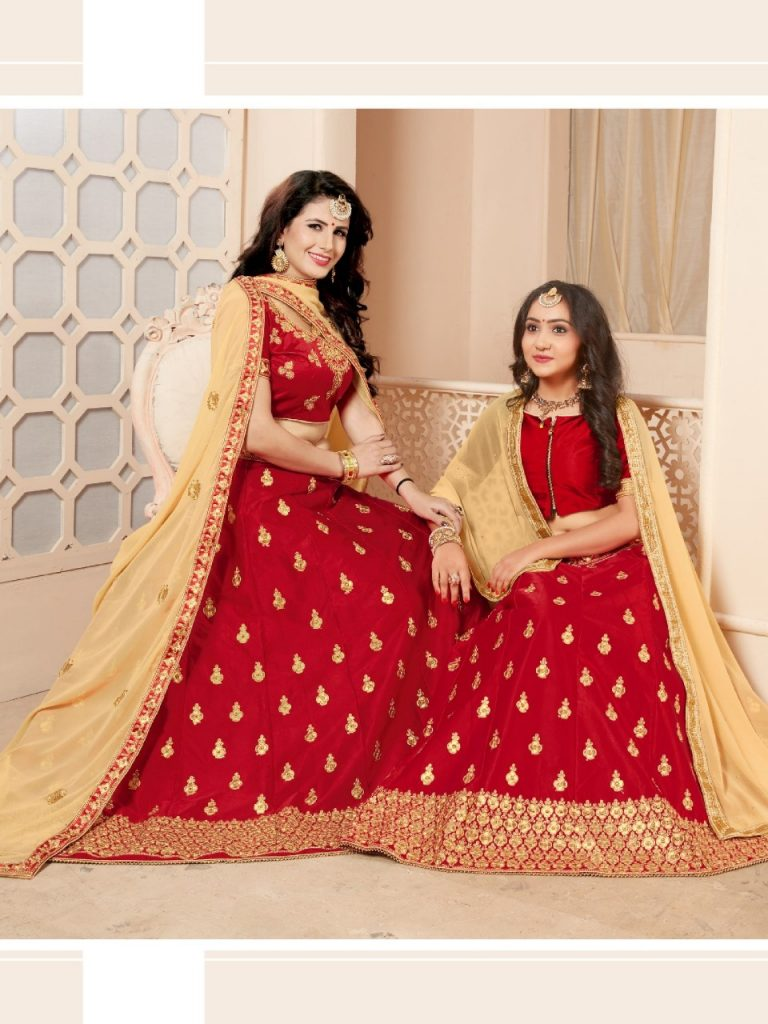 - IMG 20190329 WA0742 768x1024 - Sanskar style Moon and Star Designer Mon daughter stylish lehenga catalog wholesale price surat  - IMG 20190329 WA0742 768x1024 - Sanskar style Moon and Star Designer Mon daughter stylish lehenga catalog wholesale price surat