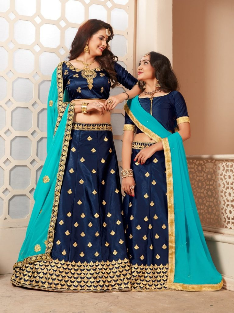 - IMG 20190329 WA0743 768x1024 - Sanskar style Moon and Star Designer Mon daughter stylish lehenga catalog wholesale price surat  - IMG 20190329 WA0743 768x1024 - Sanskar style Moon and Star Designer Mon daughter stylish lehenga catalog wholesale price surat
