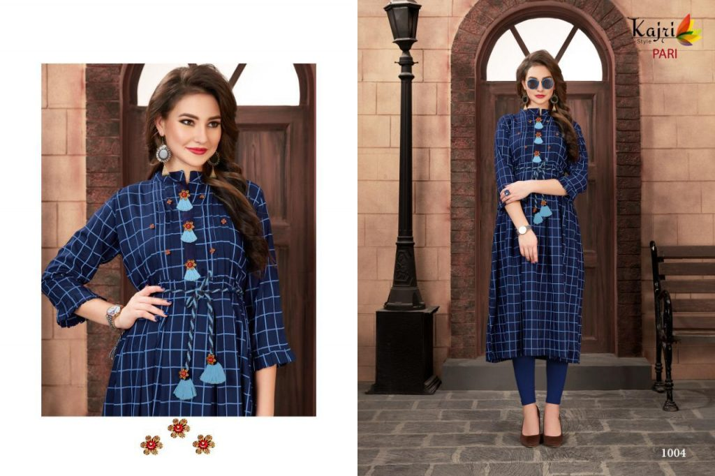 - IMG 20190414 WA0353 1024x682 - Kajri style pari vol 1 stylish printed rayon long kurti catalogue buy wholesale online  - IMG 20190414 WA0353 1024x682 - Kajri style pari vol 1 stylish printed rayon long kurti catalogue buy wholesale online