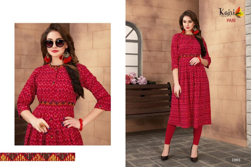 - IMG 20190414 WA0356 1024x682 - Kajri style pari vol 1 stylish printed rayon long kurti catalogue buy wholesale online  - IMG 20190414 WA0356 1024x682 - Kajri style pari vol 1 stylish printed rayon long kurti catalogue buy wholesale online