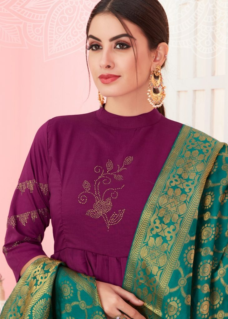 KSM Dhanyawad Banarasi Kudi Vol 2 Designer Long Kurti with dupatta catalog wholesale price Surat best rate - IMG 20190423 WA0356 731x1024 - KSM Dhanyawad Banarasi Kudi Vol 2 Designer Long Kurti with dupatta catalog wholesale price Surat best rate KSM Dhanyawad Banarasi Kudi Vol 2 Designer Long Kurti with dupatta catalog wholesale price Surat best rate - IMG 20190423 WA0356 731x1024 - KSM Dhanyawad Banarasi Kudi Vol 2 Designer Long Kurti with dupatta catalog wholesale price Surat best rate