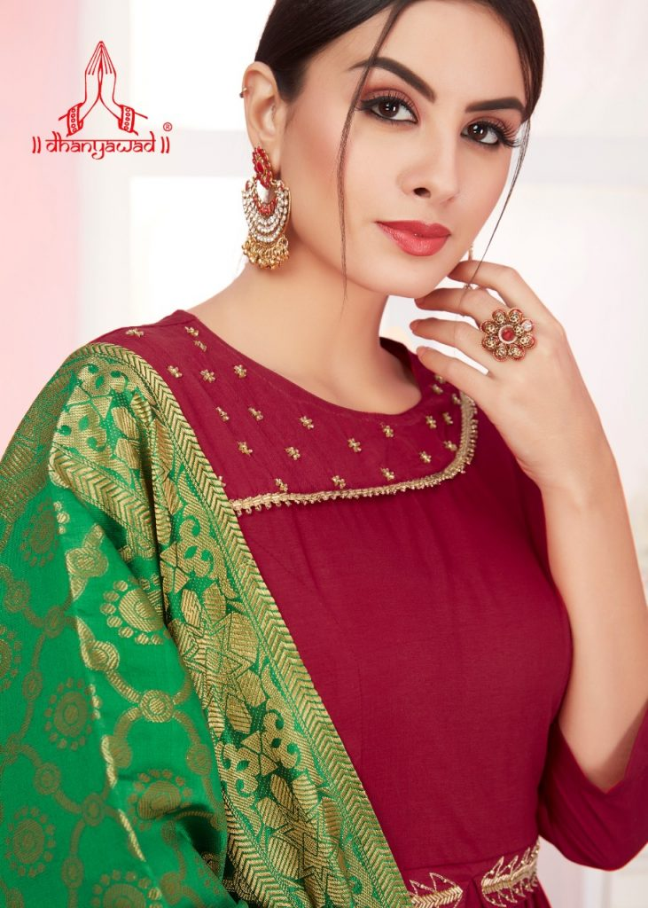 KSM Dhanyawad Banarasi Kudi Vol 2 Designer Long Kurti with dupatta catalog wholesale price Surat best rate - IMG 20190423 WA0359 1 731x1024 - KSM Dhanyawad Banarasi Kudi Vol 2 Designer Long Kurti with dupatta catalog wholesale price Surat best rate KSM Dhanyawad Banarasi Kudi Vol 2 Designer Long Kurti with dupatta catalog wholesale price Surat best rate - IMG 20190423 WA0359 1 731x1024 - KSM Dhanyawad Banarasi Kudi Vol 2 Designer Long Kurti with dupatta catalog wholesale price Surat best rate