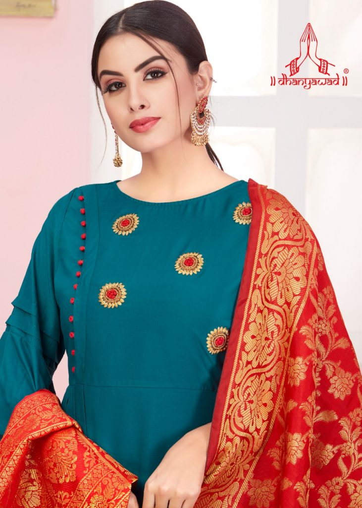 KSM Dhanyawad Banarasi Kudi Vol 2 Designer Long Kurti with dupatta catalog wholesale price Surat best rate - IMG 20190423 WA0363 731x1024 - KSM Dhanyawad Banarasi Kudi Vol 2 Designer Long Kurti with dupatta catalog wholesale price Surat best rate KSM Dhanyawad Banarasi Kudi Vol 2 Designer Long Kurti with dupatta catalog wholesale price Surat best rate - IMG 20190423 WA0363 731x1024 - KSM Dhanyawad Banarasi Kudi Vol 2 Designer Long Kurti with dupatta catalog wholesale price Surat best rate