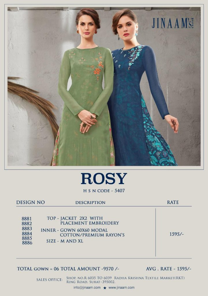 Jinaam dresses rosy designer readymade collection with inner catalogue buy from wholesaler best price - IMG 20190427 WA0697 720x1024 - Jinaam dresses rosy designer readymade collection with inner catalogue buy from wholesaler best price Jinaam dresses rosy designer readymade collection with inner catalogue buy from wholesaler best price - IMG 20190427 WA0697 720x1024 - Jinaam dresses rosy designer readymade collection with inner catalogue buy from wholesaler best price