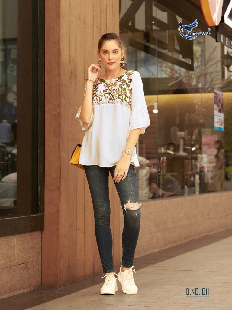 sparrow seriema glazier designer embroidered rayon short tops catalog wholesale price surat - IMG 20190430 WA0489 768x1024 - Sparrow Seriema Glazier Designer embroidered Rayon short tops catalog wholesale price surat sparrow seriema glazier designer embroidered rayon short tops catalog wholesale price surat - IMG 20190430 WA0489 768x1024 - Sparrow Seriema Glazier Designer embroidered Rayon short tops catalog wholesale price surat