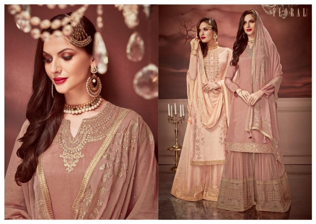 jinaam dresses floral nagma collection designer sharara suit catalog wholesale surat - IMG 20190506 WA0103 1 1024x727 - Jinaam dresses floral Nagma Collection Designer Sharara Suit Catalog wholesale surat