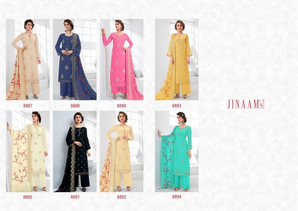 Jinaam eidi cotton Silk collection kashmiri style suit catalog dealer in surat - IMG 20190518 WA0271 1024x727 - Jinaam eidi cotton Silk collection kashmiri style suit catalog dealer in surat