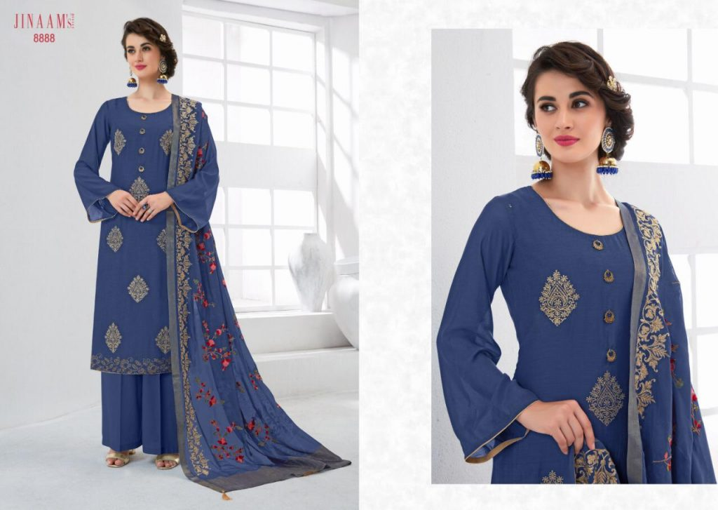 Jinaam eidi cotton Silk collection kashmiri style suit catalog dealer in surat - IMG 20190518 WA0275 1024x727 - Jinaam eidi cotton Silk collection kashmiri style suit catalog dealer in surat