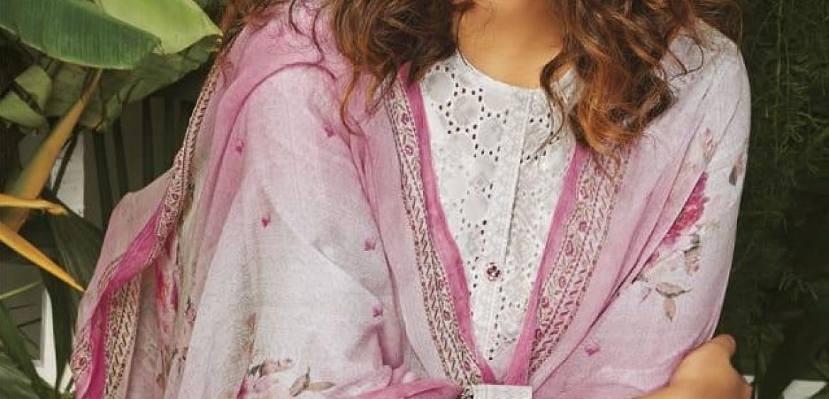 86a3a3823f Itrana rabia embroidery work cotton ladies suit catalog from surat supplier