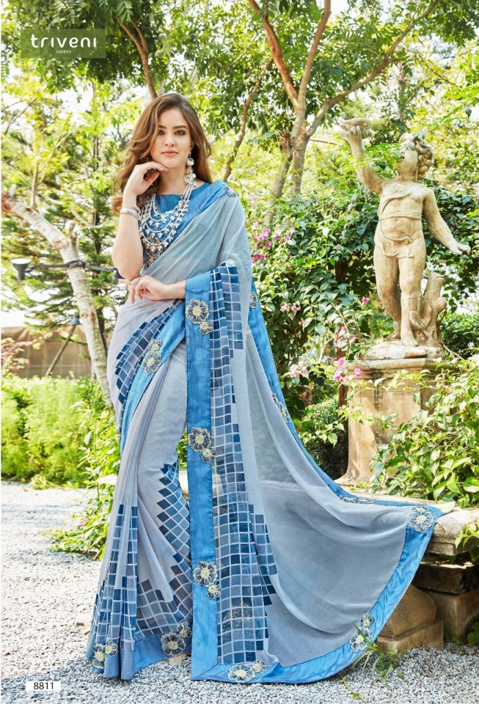 Triveni sarah fancy georgette printed exclusice saree dealer in Surat - IMG 20190606 WA0209 697x1024 - Triveni sarah fancy georgette printed exclusice saree dealer in Surat Triveni sarah fancy georgette printed exclusice saree dealer in Surat - IMG 20190606 WA0209 697x1024 - Triveni sarah fancy georgette printed exclusice saree dealer in Surat