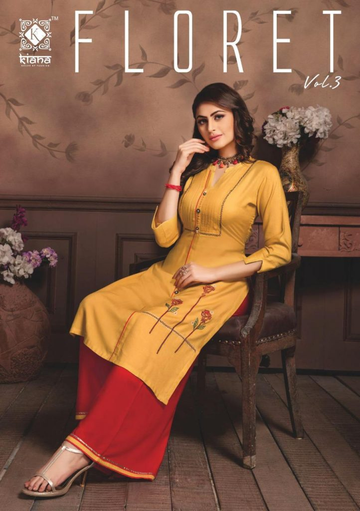 Kiana Floret vol 3 fancy rayon Kurti with palazzo wholesale Price - Kiana Floret Vol 3 Fancy Rayon Kurti With Palazzo Wholesale Price 4 1 722x1024 - Kiana Floret vol 3 fancy rayon Kurti with palazzo wholesale Price Kiana Floret vol 3 fancy rayon Kurti with palazzo wholesale Price - Kiana Floret Vol 3 Fancy Rayon Kurti With Palazzo Wholesale Price 4 1 722x1024 - Kiana Floret vol 3 fancy rayon Kurti with palazzo wholesale Price