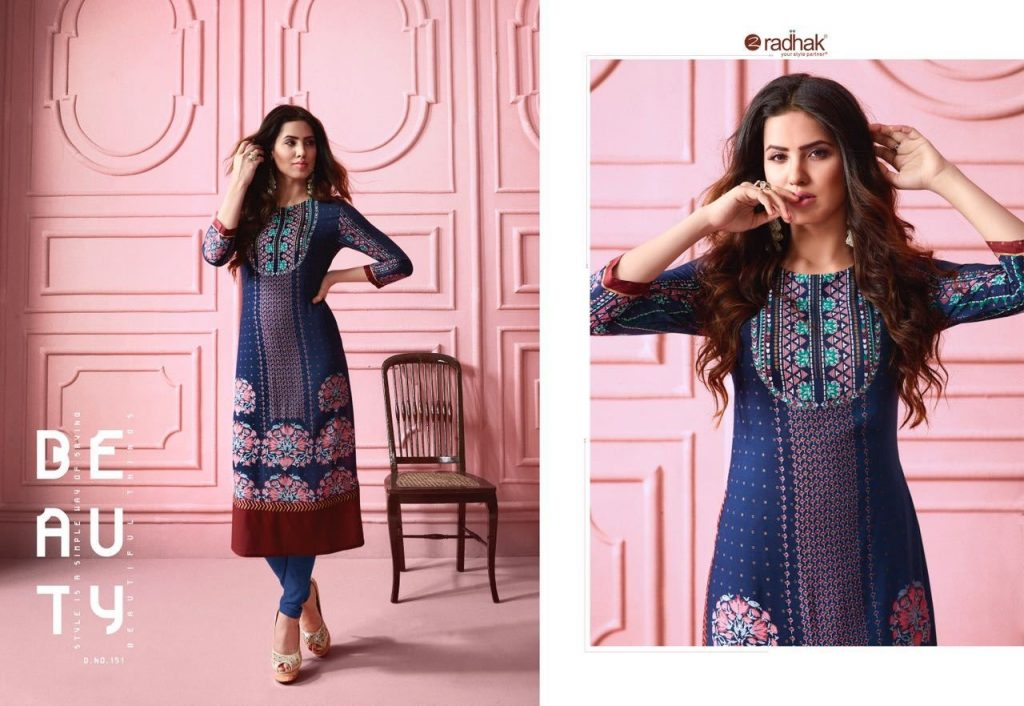 - Radhak Fashion Rukmee 2 13 1024x706 - Radhak fashion rukmee vol 2 Fancy rayon embroidered kurtis collection wholesale  - Radhak Fashion Rukmee 2 13 1024x706 - Radhak fashion rukmee vol 2 Fancy rayon embroidered kurtis collection wholesale