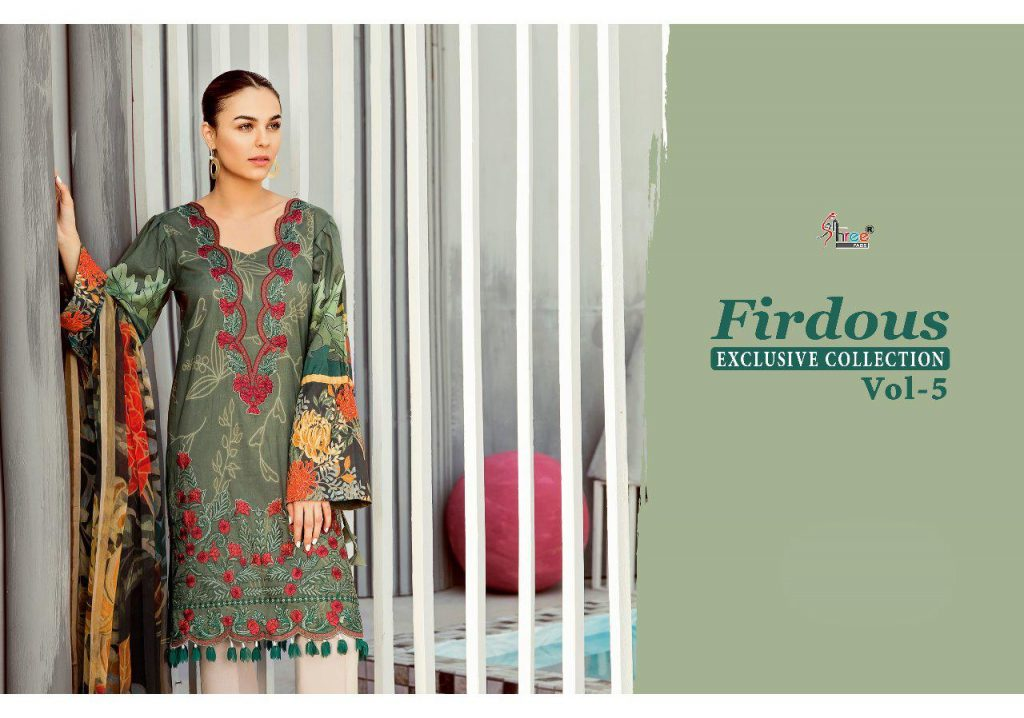 Shree Fabs Firdous Exclusive collection vol 5 Cotton pakistani Ladies Suits - Shree Fabs Firdous Exclusive Collection Vol 5 Cotton Pakistani Ladies Suits 7 1024x718 - Shree Fabs Firdous Exclusive collection vol 5 Cotton pakistani Ladies Suits Shree Fabs Firdous Exclusive collection vol 5 Cotton pakistani Ladies Suits - Shree Fabs Firdous Exclusive Collection Vol 5 Cotton Pakistani Ladies Suits 7 1024x718 - Shree Fabs Firdous Exclusive collection vol 5 Cotton pakistani Ladies Suits