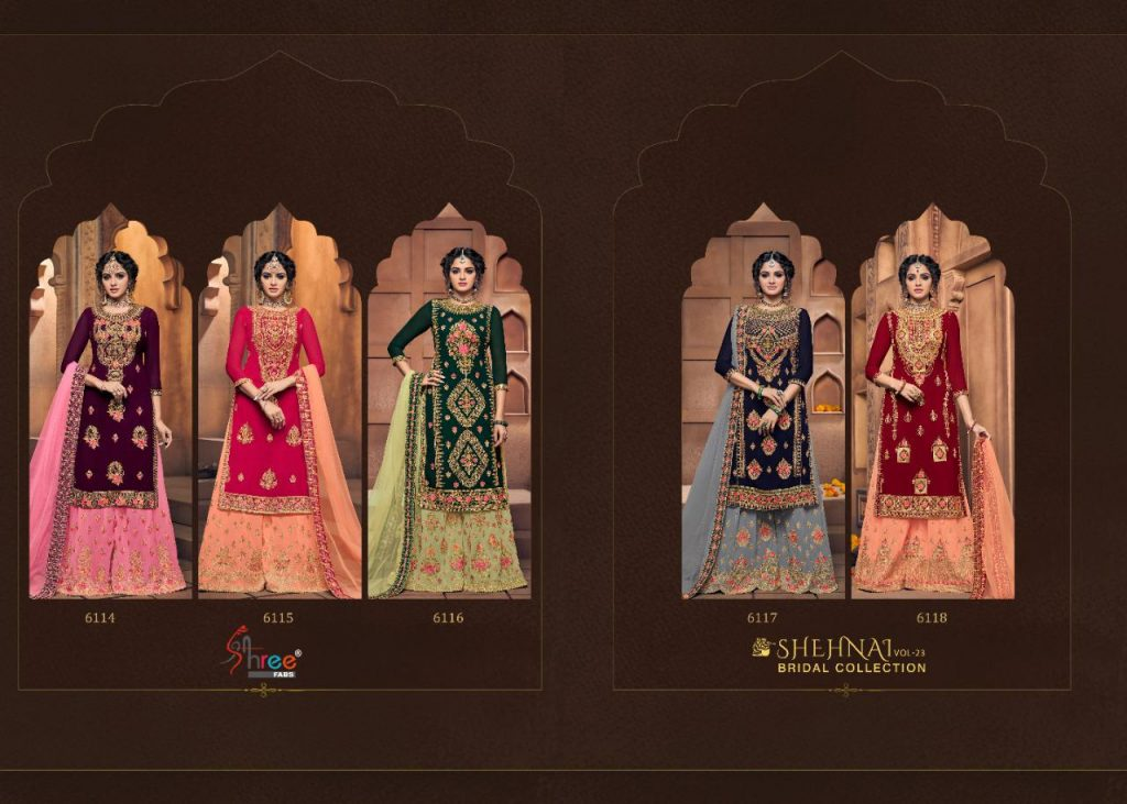 Shree Fabs Shehnai Bridal Collection Vol 23 Designer Sharara Dress Latest Catalog Online - Shree Fabs Shehnai Bridal Collection Vol 23 Designer Sharara Dress Latest Catalog Online 10 1024x731 - Shree Fabs Shehnai Bridal Collection Vol 23 Designer Sharara Dress Latest Catalog Online Shree Fabs Shehnai Bridal Collection Vol 23 Designer Sharara Dress Latest Catalog Online - Shree Fabs Shehnai Bridal Collection Vol 23 Designer Sharara Dress Latest Catalog Online 10 1024x731 - Shree Fabs Shehnai Bridal Collection Vol 23 Designer Sharara Dress Latest Catalog Online