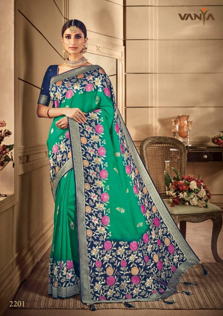 Vanya 2201-2209 Series Designer Party Wear Weaving Silk Saree Catalog Wholesale - Vanya 2201 2209 Series Designer Party Wear Weaving Silk Saree Catalog Wholesale 9 723x1024 - Vanya 2201-2209 Series Designer Party Wear Weaving Silk Saree Catalog Wholesale Vanya 2201-2209 Series Designer Party Wear Weaving Silk Saree Catalog Wholesale - Vanya 2201 2209 Series Designer Party Wear Weaving Silk Saree Catalog Wholesale 9 723x1024 - Vanya 2201-2209 Series Designer Party Wear Weaving Silk Saree Catalog Wholesale