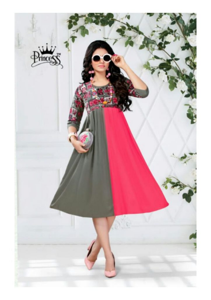 princess new heerwa gown vol 9 fancy rayon kurti catalog wholesale supplier surat best rate - princess new heerwa gown vol 9 fancy rayon kurti catalog wholesale supplier surat best rate 1 723x1024 - Princess new Heerwa gown vol 9 fancy Rayon kurti catalog wholesale supplier Surat best rate