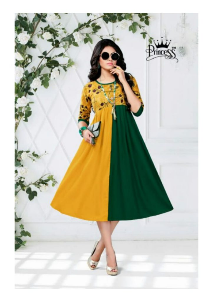 princess new heerwa gown vol 9 fancy rayon kurti catalog wholesale supplier surat best rate - princess new heerwa gown vol 9 fancy rayon kurti catalog wholesale supplier surat best rate 10 723x1024 - Princess new Heerwa gown vol 9 fancy Rayon kurti catalog wholesale supplier Surat best rate