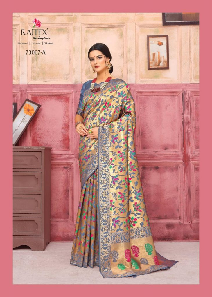 Rajtex KAUSHALYA SILK 73007 Colours designer silk saree wholesale - rajtex kaushalya silk 73007 colours designer silk saree wholesale 1 730x1024 - Rajtex KAUSHALYA SILK 73007 Colours designer silk saree wholesale Rajtex KAUSHALYA SILK 73007 Colours designer silk saree wholesale - rajtex kaushalya silk 73007 colours designer silk saree wholesale 1 730x1024 - Rajtex KAUSHALYA SILK 73007 Colours designer silk saree wholesale