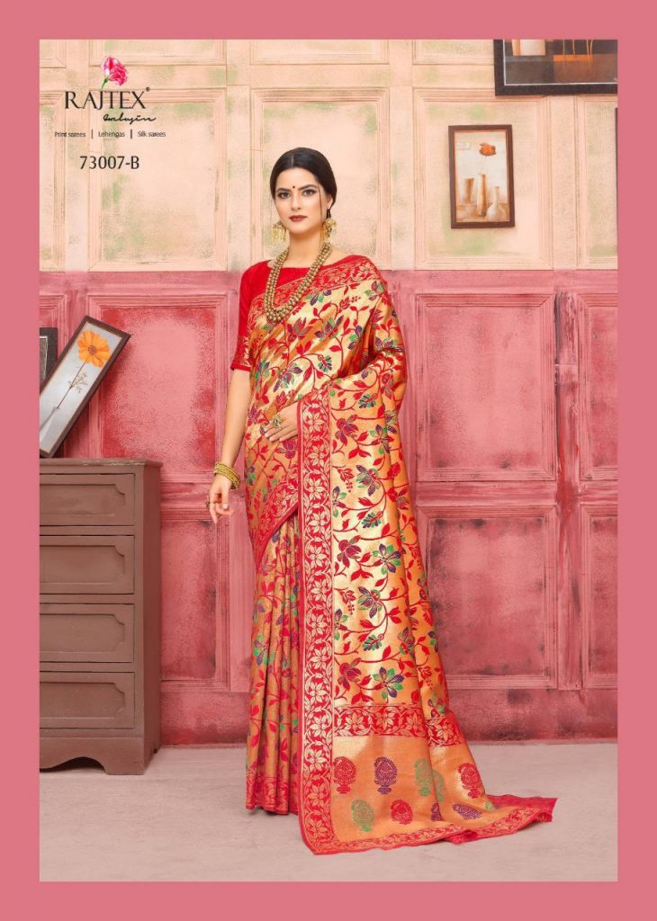 Rajtex KAUSHALYA SILK 73007 Colours designer silk saree wholesale - rajtex kaushalya silk 73007 colours designer silk saree wholesale 2 730x1024 - Rajtex KAUSHALYA SILK 73007 Colours designer silk saree wholesale Rajtex KAUSHALYA SILK 73007 Colours designer silk saree wholesale - rajtex kaushalya silk 73007 colours designer silk saree wholesale 2 730x1024 - Rajtex KAUSHALYA SILK 73007 Colours designer silk saree wholesale