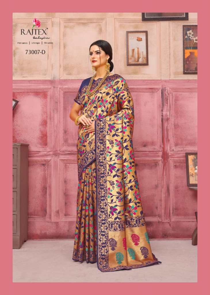 Rajtex KAUSHALYA SILK 73007 Colours designer silk saree wholesale - rajtex kaushalya silk 73007 colours designer silk saree wholesale 3 730x1024 - Rajtex KAUSHALYA SILK 73007 Colours designer silk saree wholesale Rajtex KAUSHALYA SILK 73007 Colours designer silk saree wholesale - rajtex kaushalya silk 73007 colours designer silk saree wholesale 3 730x1024 - Rajtex KAUSHALYA SILK 73007 Colours designer silk saree wholesale