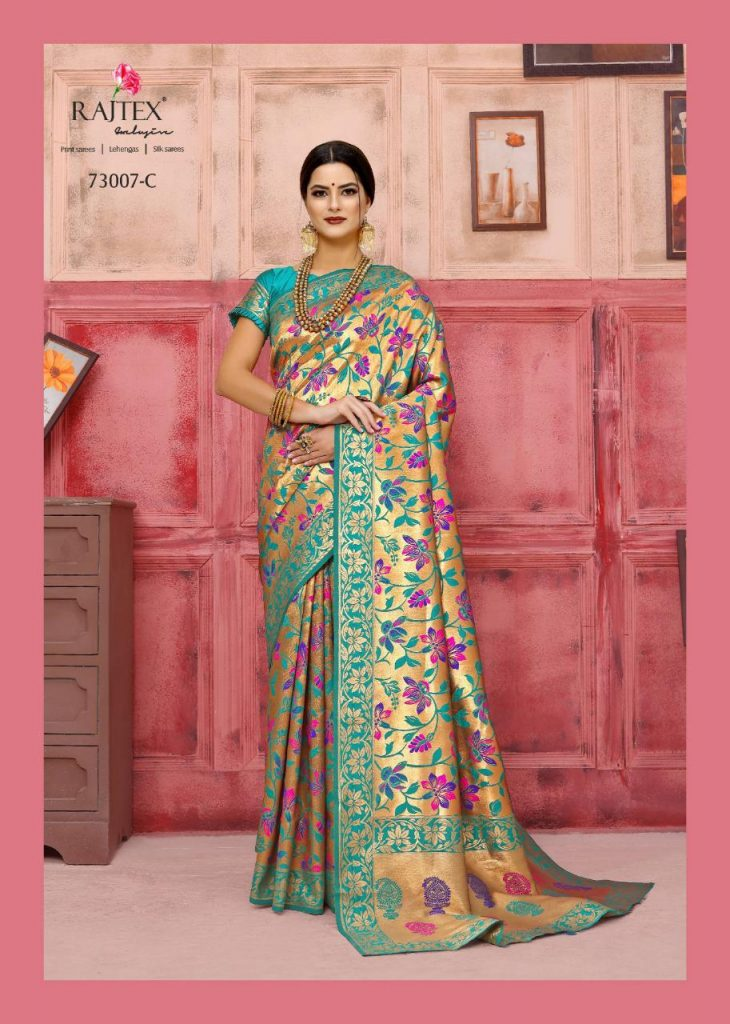 Rajtex KAUSHALYA SILK 73007 Colours designer silk saree wholesale - rajtex kaushalya silk 73007 colours designer silk saree wholesale 4 730x1024 - Rajtex KAUSHALYA SILK 73007 Colours designer silk saree wholesale Rajtex KAUSHALYA SILK 73007 Colours designer silk saree wholesale - rajtex kaushalya silk 73007 colours designer silk saree wholesale 4 730x1024 - Rajtex KAUSHALYA SILK 73007 Colours designer silk saree wholesale