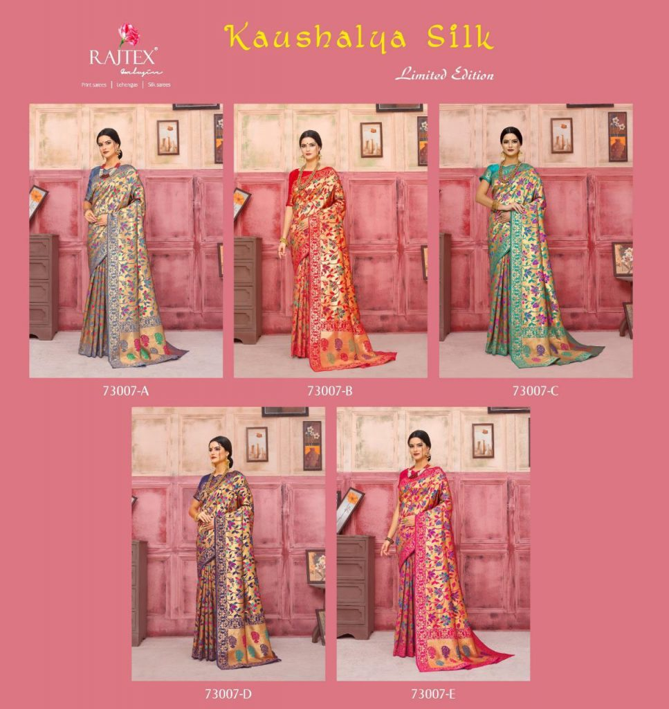 Rajtex KAUSHALYA SILK 73007 Colours designer silk saree wholesale - rajtex kaushalya silk 73007 colours designer silk saree wholesale 6 967x1024 - Rajtex KAUSHALYA SILK 73007 Colours designer silk saree wholesale Rajtex KAUSHALYA SILK 73007 Colours designer silk saree wholesale - rajtex kaushalya silk 73007 colours designer silk saree wholesale 6 967x1024 - Rajtex KAUSHALYA SILK 73007 Colours designer silk saree wholesale