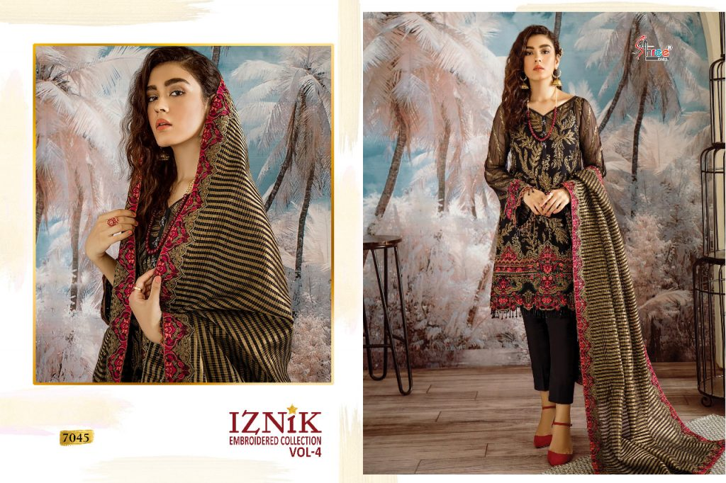 Shree Fabs Iznik Embroidered Collection vol 4 georgette pakistani Suits seller - shree fabs iznik embroidered collection vol 4 georgette pakistani suits seller 6 1024x682 - Shree Fabs Iznik Embroidered Collection vol 4 georgette pakistani Suits seller Shree Fabs Iznik Embroidered Collection vol 4 georgette pakistani Suits seller - shree fabs iznik embroidered collection vol 4 georgette pakistani suits seller 6 1024x682 - Shree Fabs Iznik Embroidered Collection vol 4 georgette pakistani Suits seller